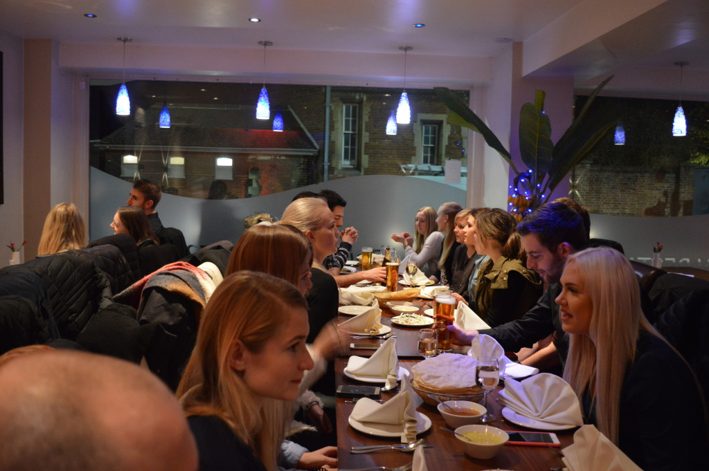 Oxford 2016 dinner 1